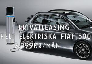 Privatleasa Fiat 500 på IA Bil i Vänersborg